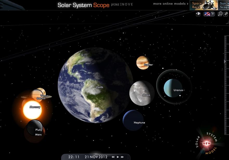 6 planet w linii w dniu 21-12-2012