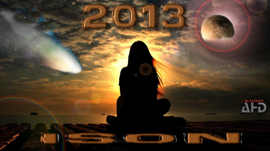 ISON KOMETA C/2012 S1 LISTOPAD 2013 - LECI DO NAS W TOWARZYSTWIE INNYCH CIAŁ