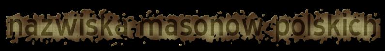 lista masonów